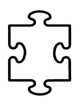 We All Fit Together A Fun Community Building Activity For Your Students Puzzle Piece Template Autism Puzzle Piece Blank Puzzle Pieces