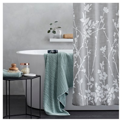 Floral Print Shower Curtain Gray Project 62 Gray Shower