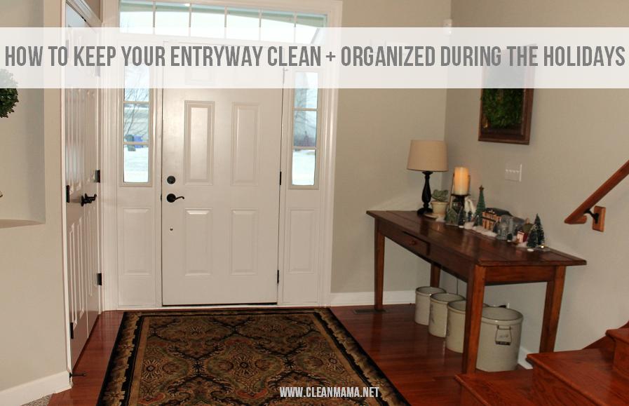 How to Keep Your Entryway Clean + Organized via ABFOL