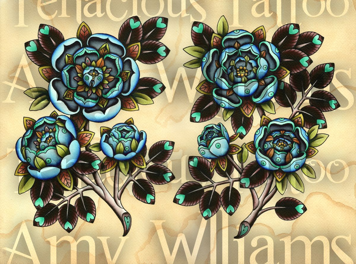 Blue Roses Amy Williams