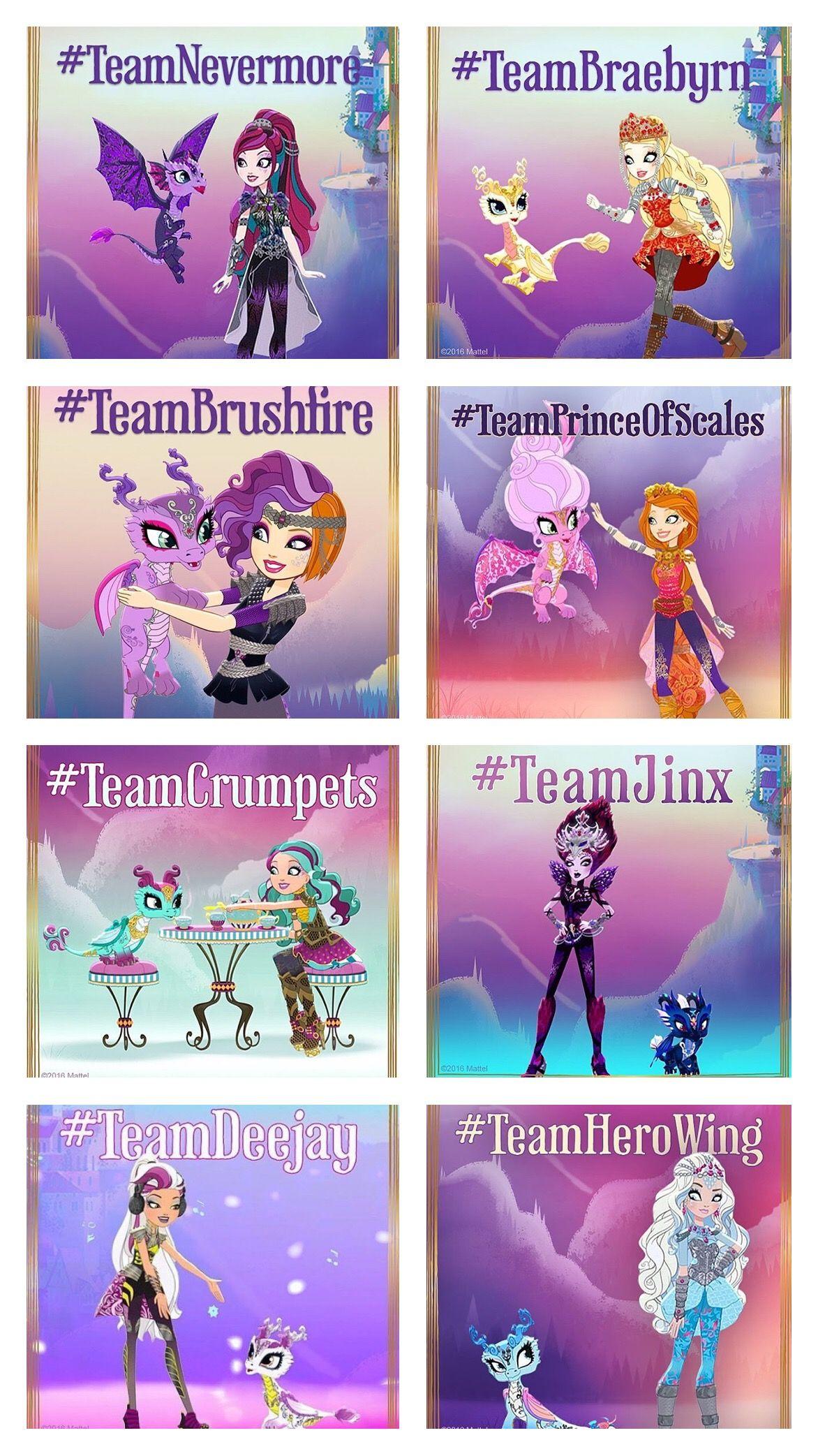 Dragon Games teams