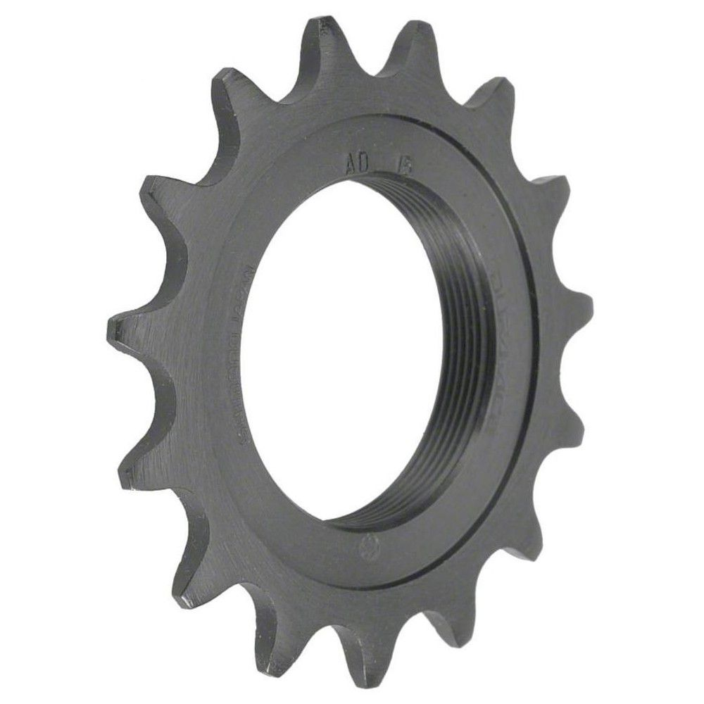 """FIXED GEAR 16T BLACK FIXIE COG FIXED GEAR TRACK SINGLE COG 16 TOOTH 1//8/"""""""