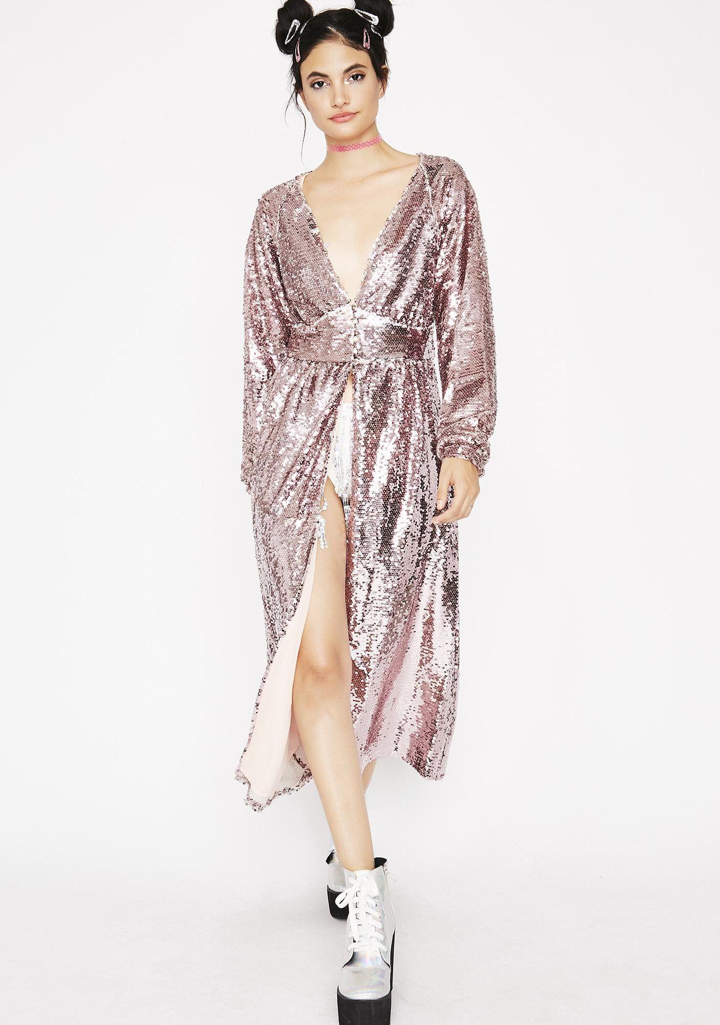 4566cce703c05 Sparkle Princess Sequin Kimono | dream wardrobe | Sequin kimono ...