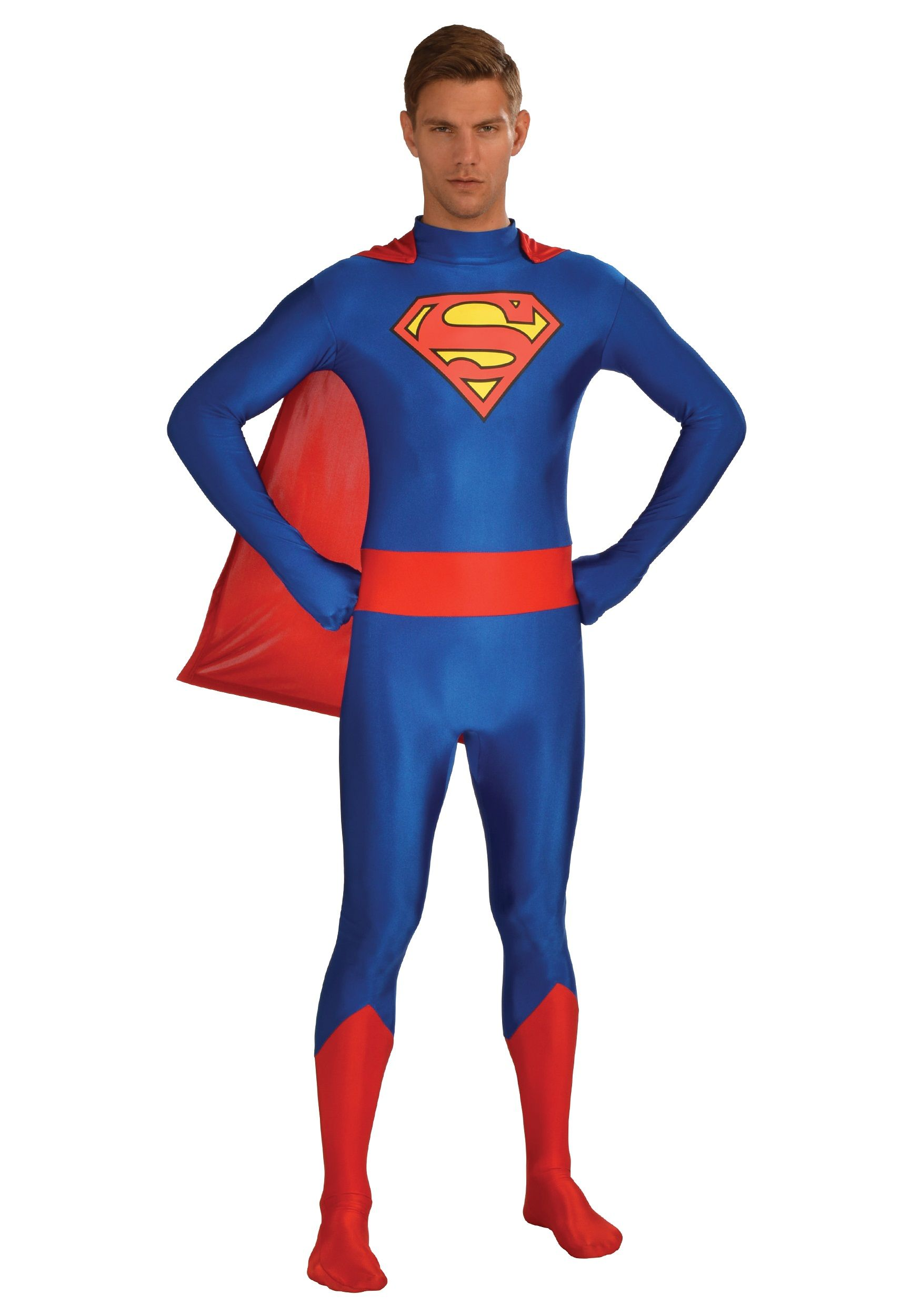 Wear this skintight bodysuit to instantly become everyoneu0027s favorite superhero from Krypton! This Superman/Supergirl Zentai Bodysuit for adults is a fun way ...  sc 1 st  Pinterest & Superman Unisex Skin Suit | 2017List | Pinterest | Unisex Costumes ...