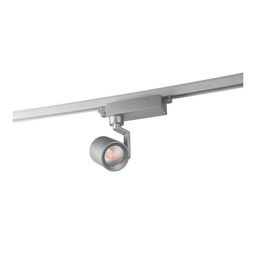 LED 3-Phasen-Schienenstrahler CORE, 32W 4000K 36°, Silber