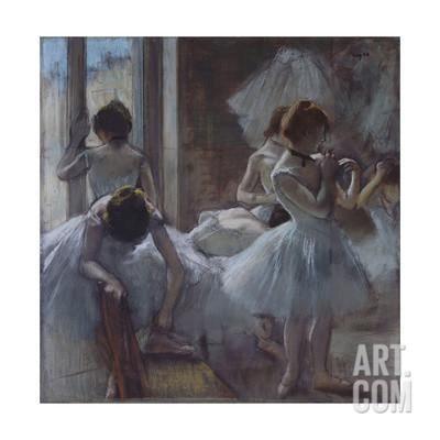 Dancers (Danseuse), 1884-1885 Giclee Print by Edgar Degas at Art.com