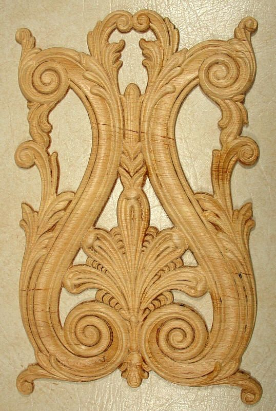 Wood Appliques / Onlays in 175 patterns   Esculturas ...