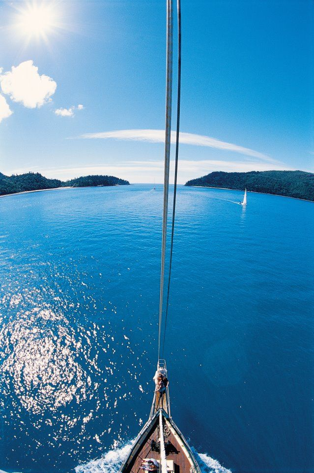 Sailing the Whitsundays, Australia