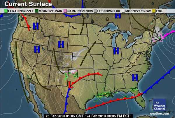 US: Current Weather Maps, radar, interstate traffic, temperature ...