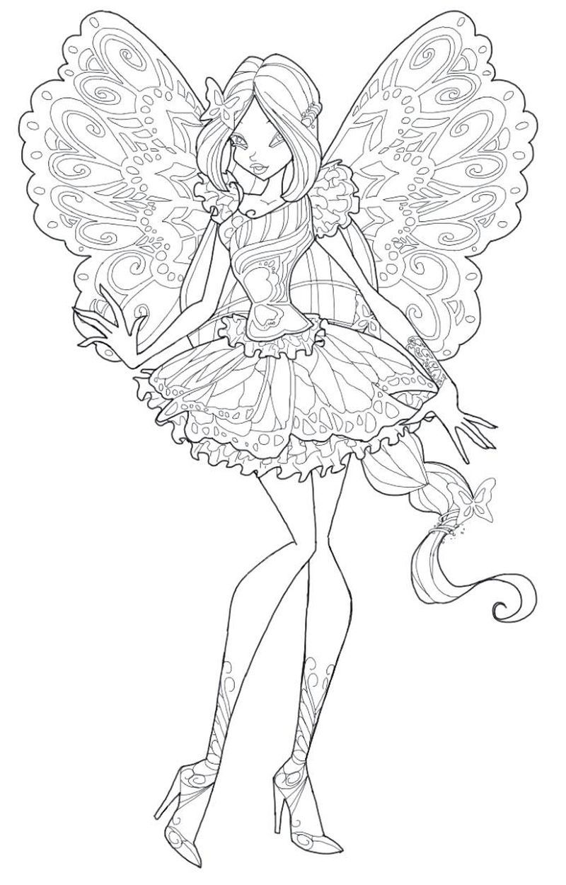 Magic Winx Coloring Pages Mermaid Coloring Pages Cartoon Coloring Pages Coloring Pages