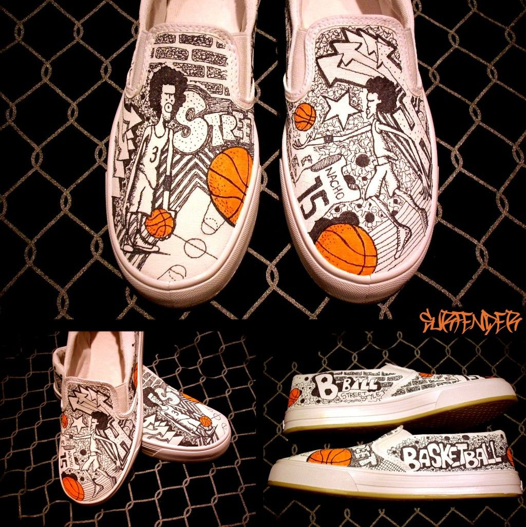 7143e9ac8c40 i love the old school look of the shoes Incredible Custom Shoes Designs