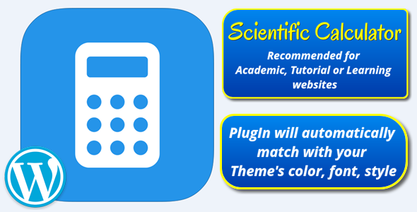 Add Scientific Calculator In Your WordPress Website To Let Visitor Calculate Just In The Scientific Calculator Learning Websites Learn Math Online