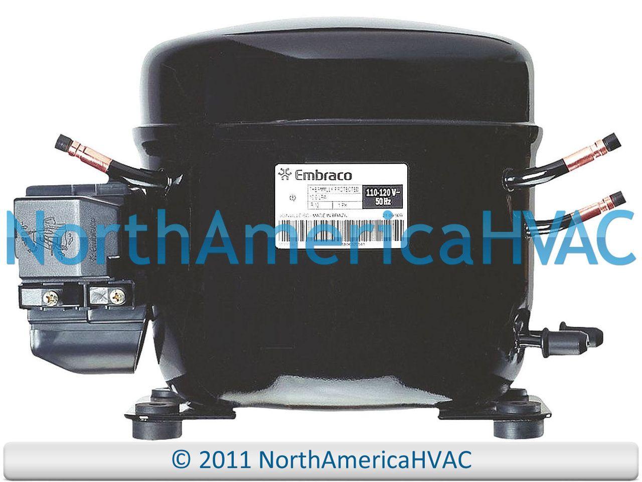 W10309994 Whirlpool Refrigeration Compressor 1 3 Hp R 134a R134a