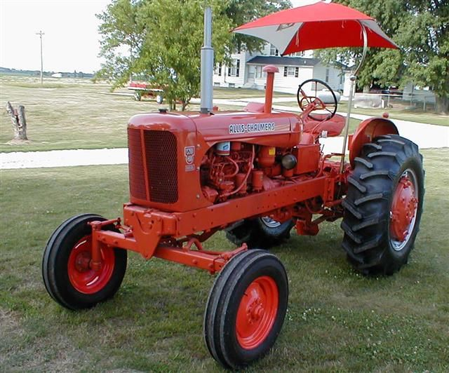 Allis Chalmers Wd45 : Restored ac allis chalmers wd diesel tractor for