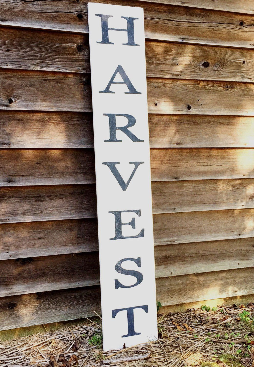 Harvest Wood Sign Fall Decor Porch Sign Tell Your