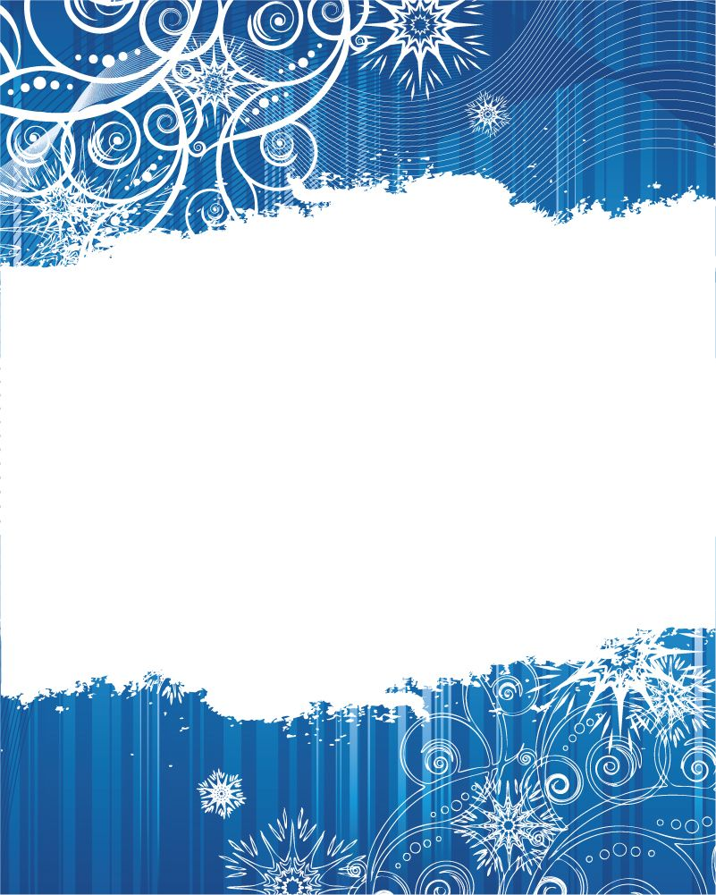 free vector 2 blue snowflake background vector Текстуры