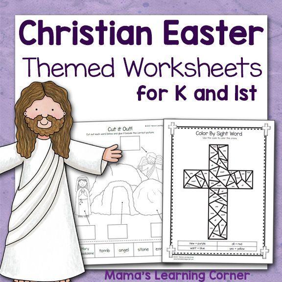 Preschool Calendar Notebook Christian Easter Worksheets And Pre