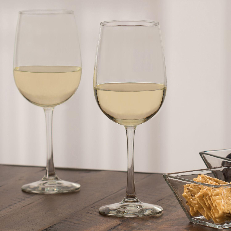 Libbey Midtown 4 Piece White Wine Glass Set Wine Glass Set
