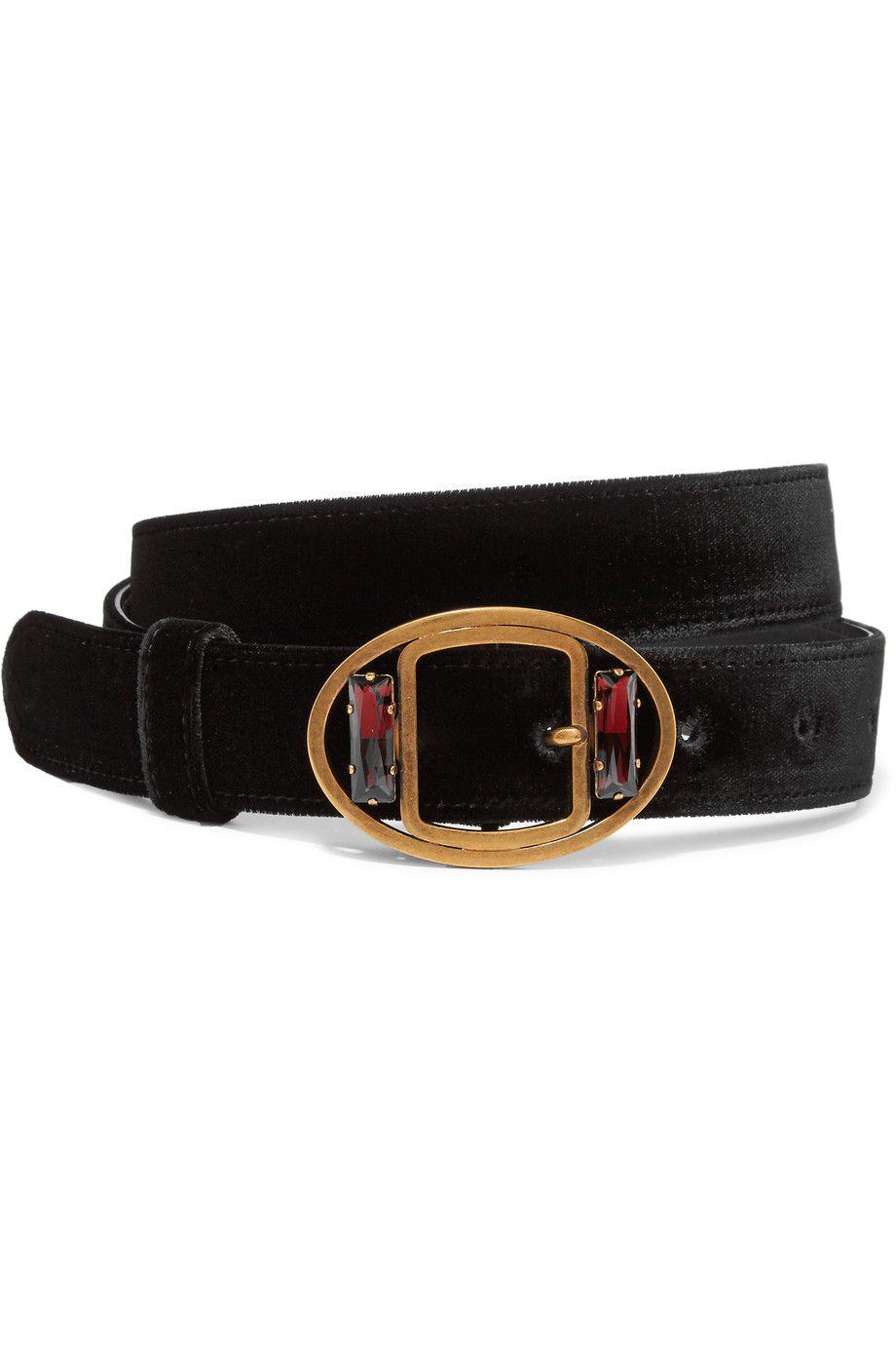 3b76b3683b0b ... bag bba4c 7ff72; italy prada embellished velvet waist belt net a porter  de673 b6979
