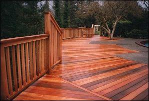 Wood Decking Western Red Cedar