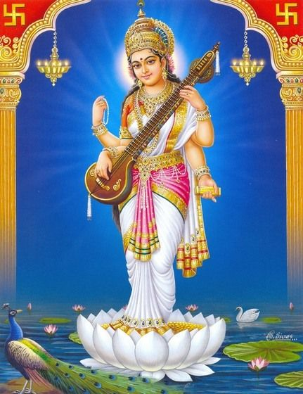 Saraswati – Hindu Goddess Of Learning Saraswati Devi | Goddesses