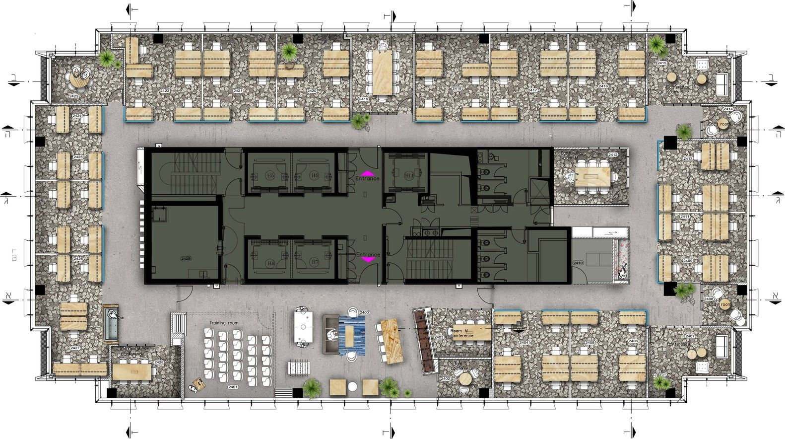 Gallery Of Palo Alto Networks Setter Architects 9 Palo Alto Networks Office Layout Plan Office Floor Plan