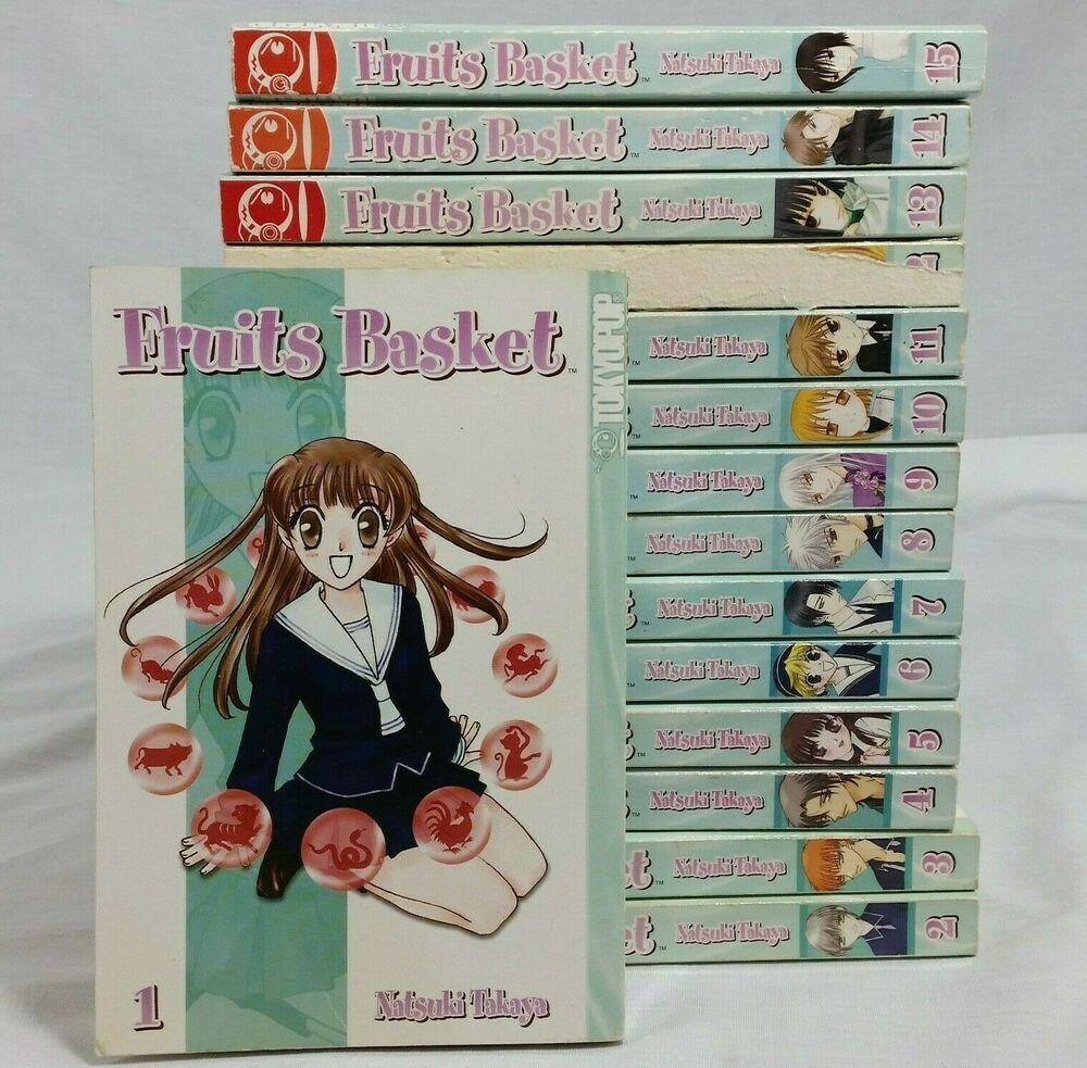 Fruits Basket Manga Lot 116 Books Series Set Shojo