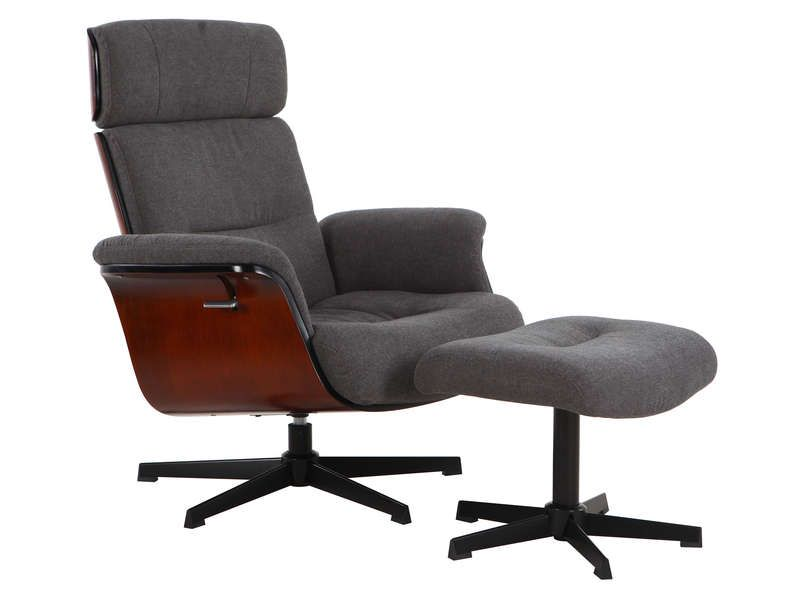 Relaxation Pas Conforama Cher En Tissu Fauteuil Seattle IbE2YD9HeW