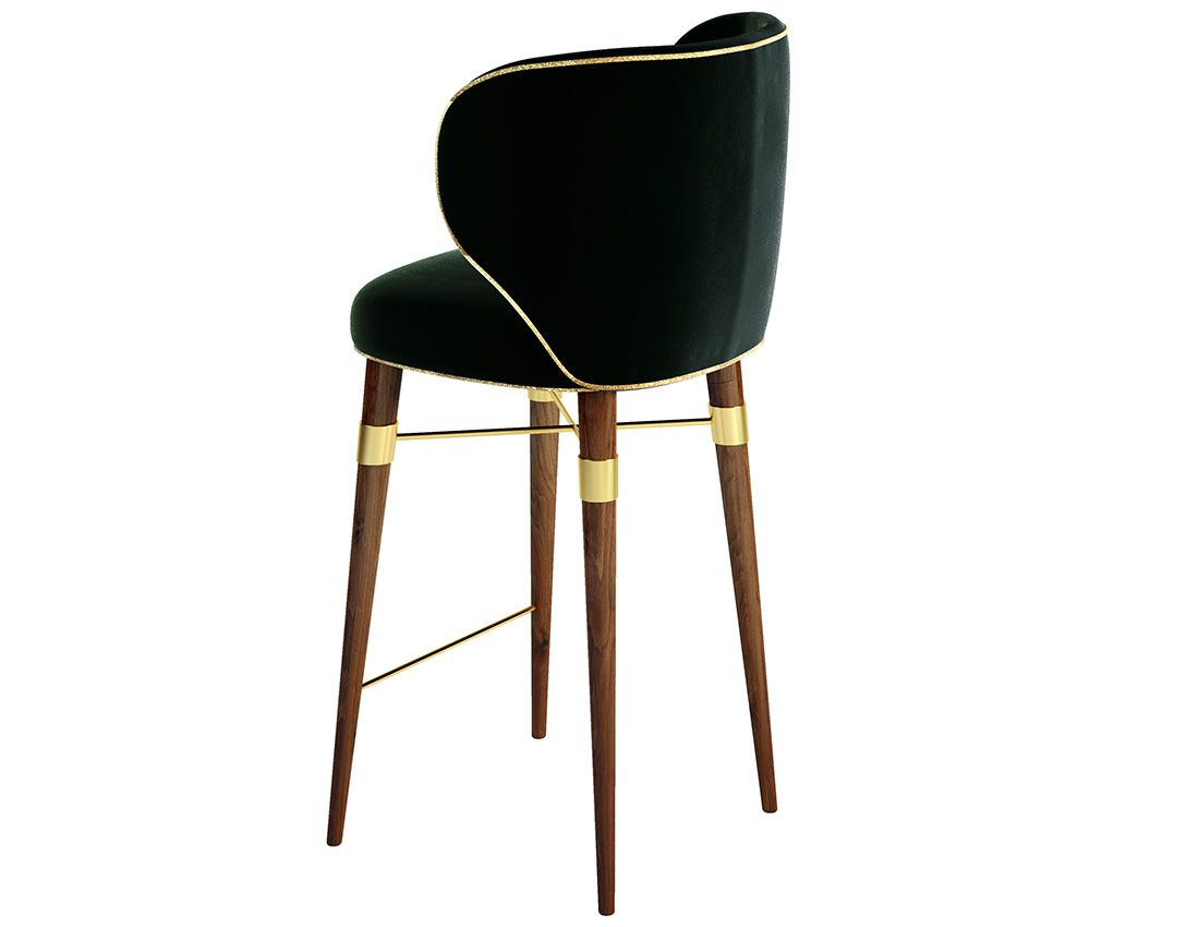Costantini Sedie ~ Louis mid century modern bar chair by bar chairs cord and bar