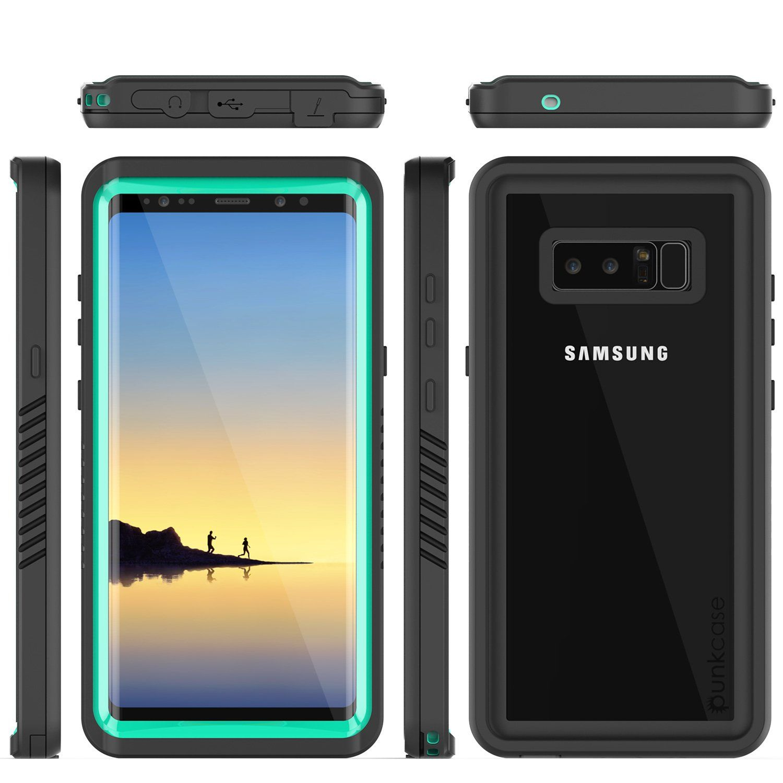 Galaxy Note 8 Anti Shock Screen Protector Slim Fit Case Teal Galaxy Note 8 Galaxy Note Galaxy