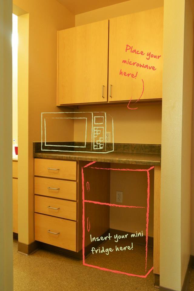 Ci Housing S Santa Cruz Village Storage Area Microwave Mini Fridge Are Provided