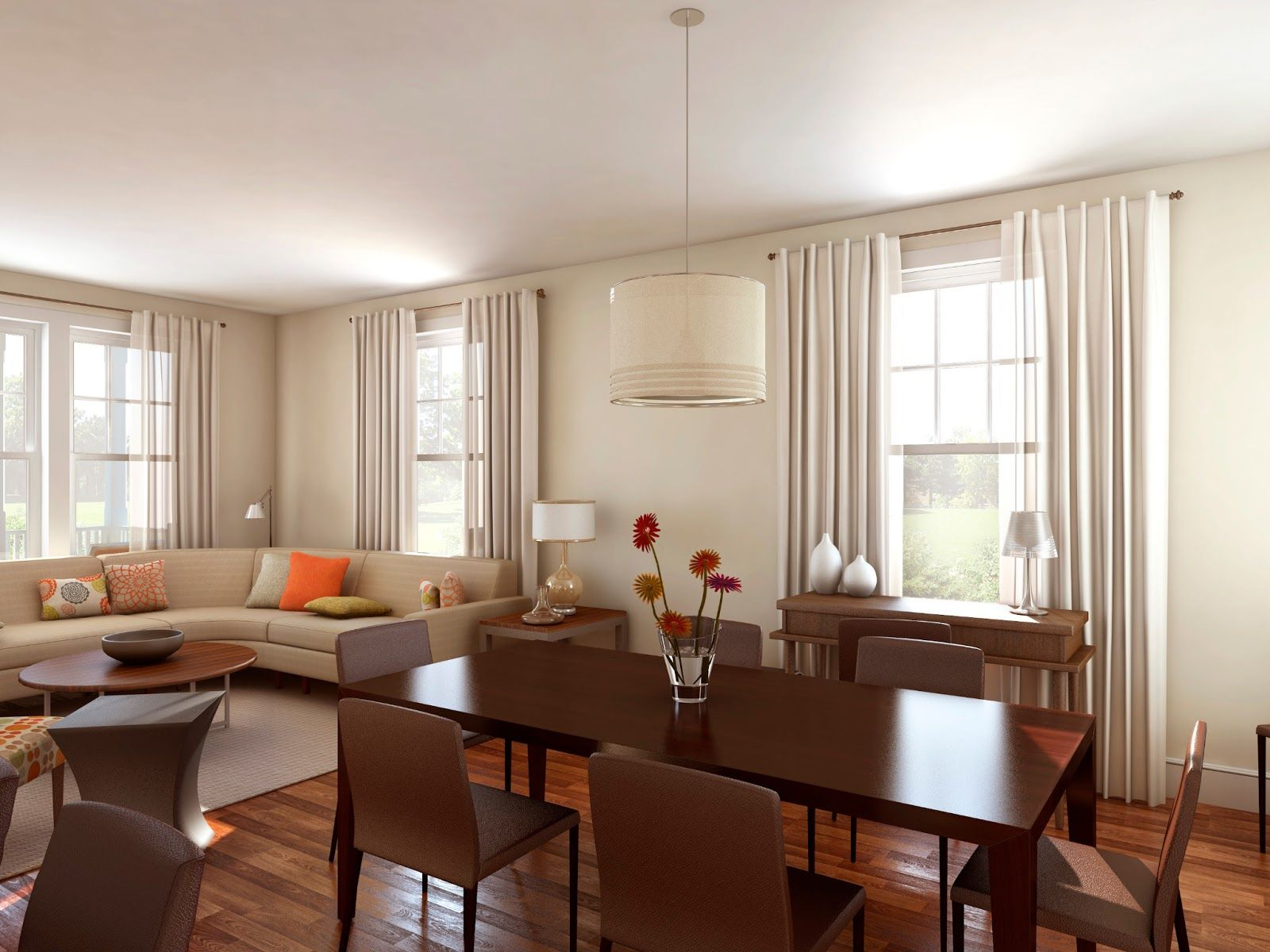 Living Room And Dining Room Together Living Room And Dining Best Design Living Room And D Living Room Dining Room Combo L Shaped Living Room Dining Room Layout