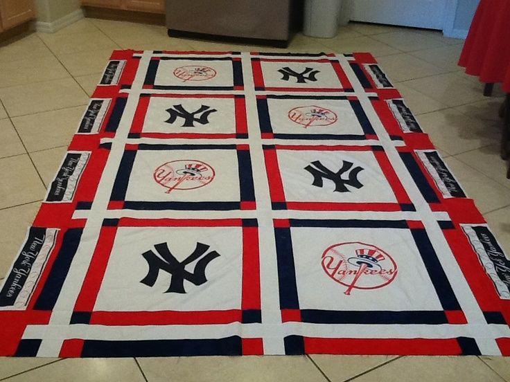 New York Yankees Quilt