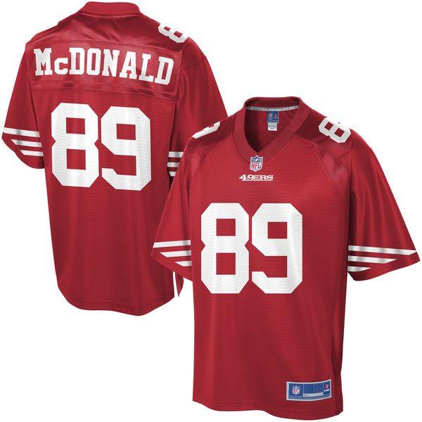 vance mcdonald steelers jersey