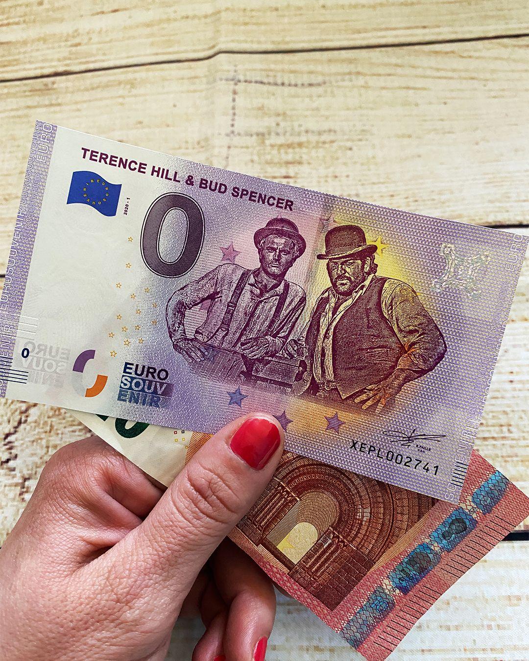 Terence Hill Bud Spencer 0 Euro Banknote Bud Spencer Filme Klassiker Terence Hill