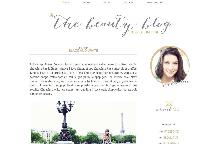 Groß Minimale Blogger Vorlagen Fotos - Beispiel Wiederaufnahme ...