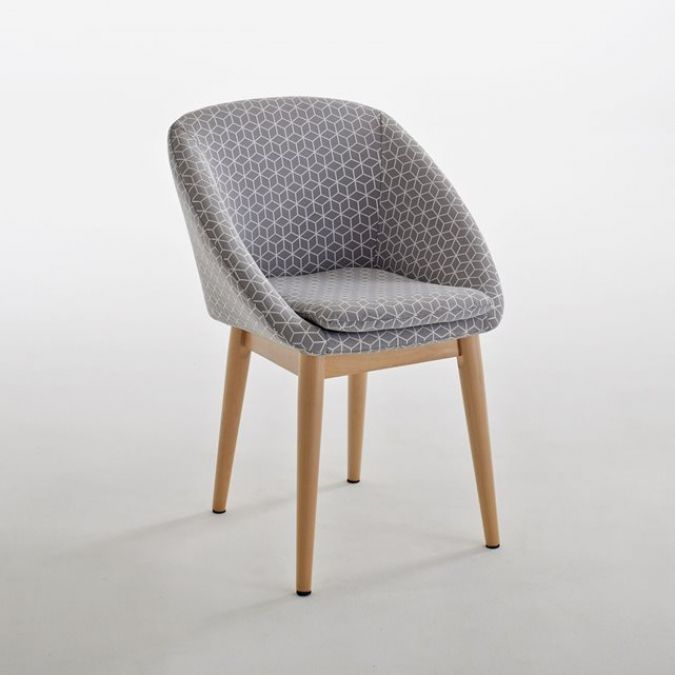 Chaise salle a manger idee deco pinterest for Chaise mauricette