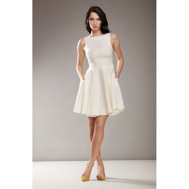 Kremowa Sukienka Na Wesele Audrey Sklep Dotti Pl Fit Flare Dress Flare Dress Zulily Dresses