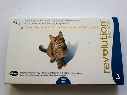 Pfizer Prevent Flea Heartworm Ear Mite Treat And Control Infection For Cat 2 6 7 5 Kg Or 5 1 To 15 Lbs Exp 2017 Get Free Jel Heartworm Pet Supplies Fleas