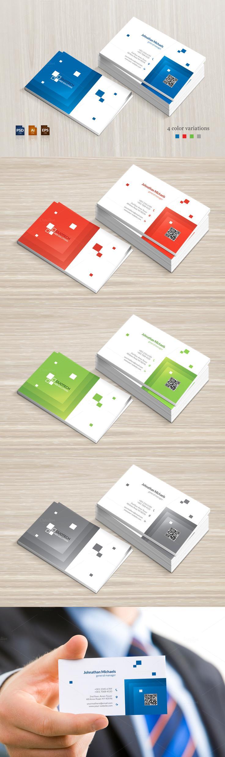#businesscard #design from BettyDesign | DOWNLOAD: https://creativemarket.com/BettyDesign/669342-Creative-Business-Card?u=zsoltczigler
