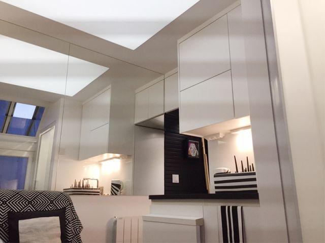 avant apr s un 12m2 revu et corrig pour une meilleure optimisation 14m2 studio renovation. Black Bedroom Furniture Sets. Home Design Ideas