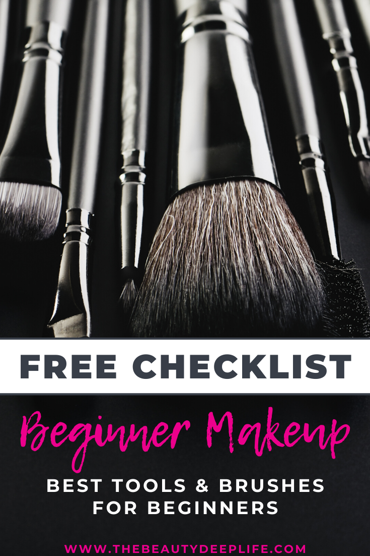 Checklist of the best makeup brushes and must have tools
