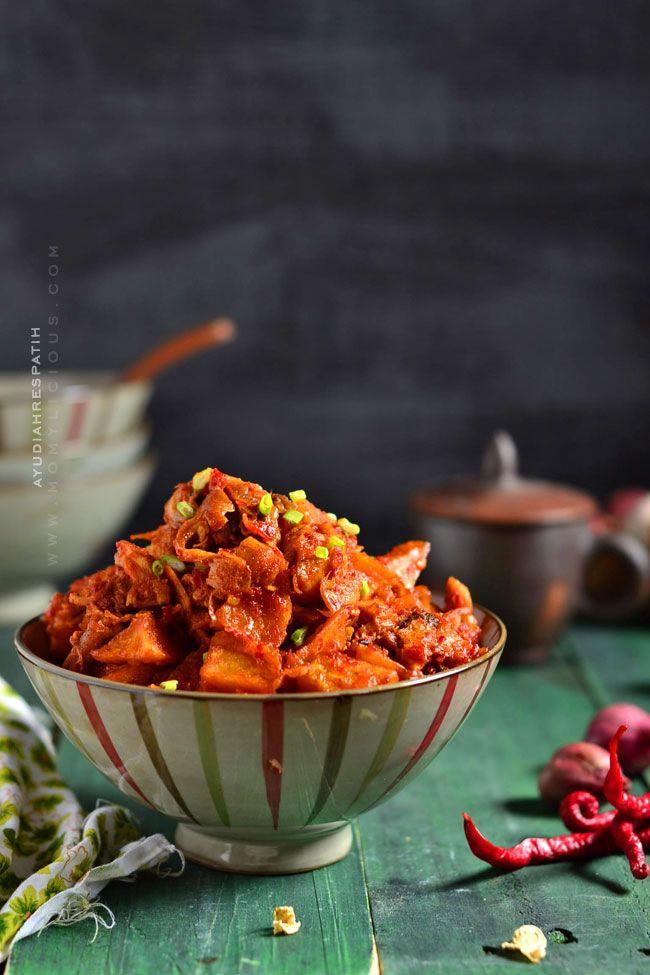 Sambal Goreng Kentang Ayam Suwir Resep Ayam Suwir Fotografi Makanan Resep Masakan Indonesia