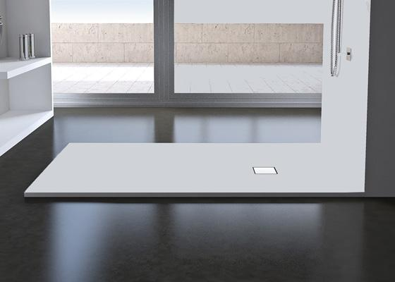Rectangular Solid Surface Shower Tray Stone Collection By Condor Balneo Shower Tray Stone Collection Rectangular