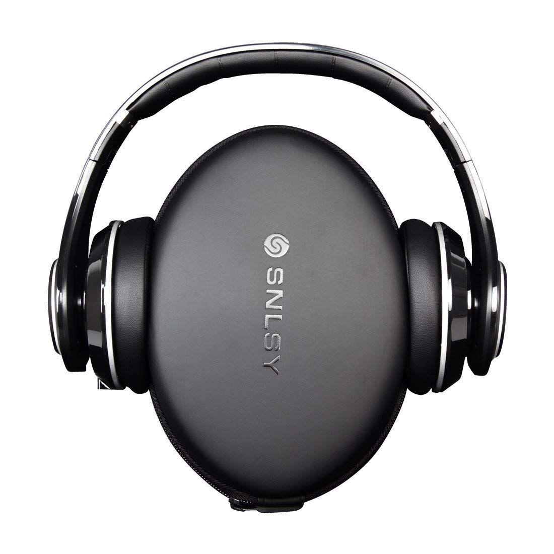 Amazon Com Snlsy Bluetooth Headphones Over Ear Hi Fi Stereo Wireless Headset With Microphone And Volume Cont Wireless Headset Headphones Bluetooth Headphones