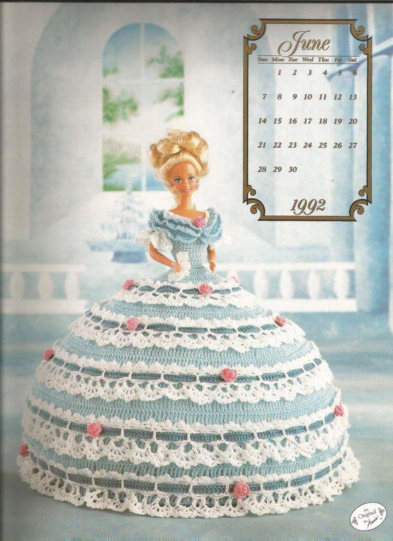 Crochet Pattern Crochet Barbie Doll Clothes Pattern Miss June