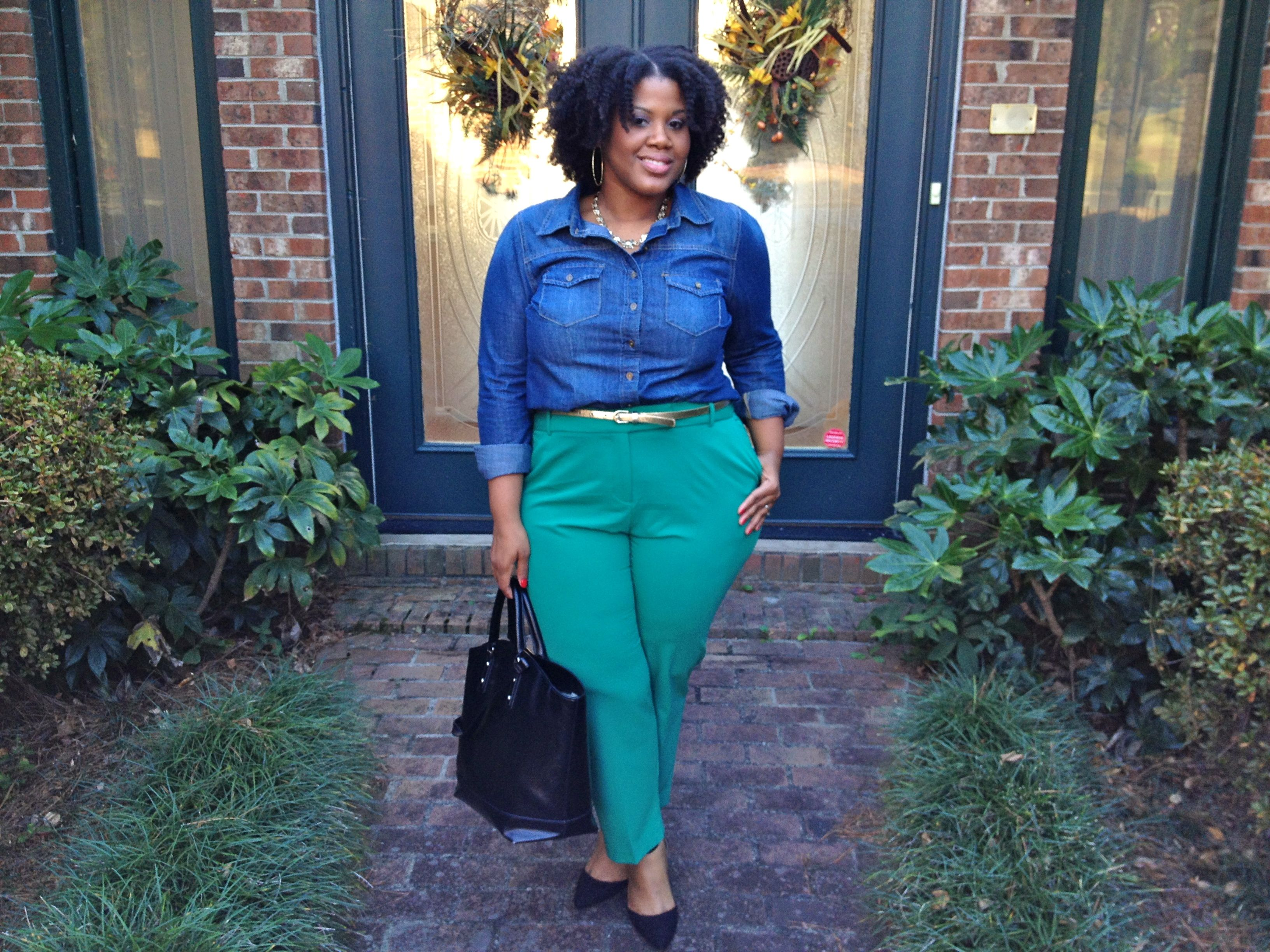 Love these ankle pants from Cato Fashions! Plus size fashion ...
