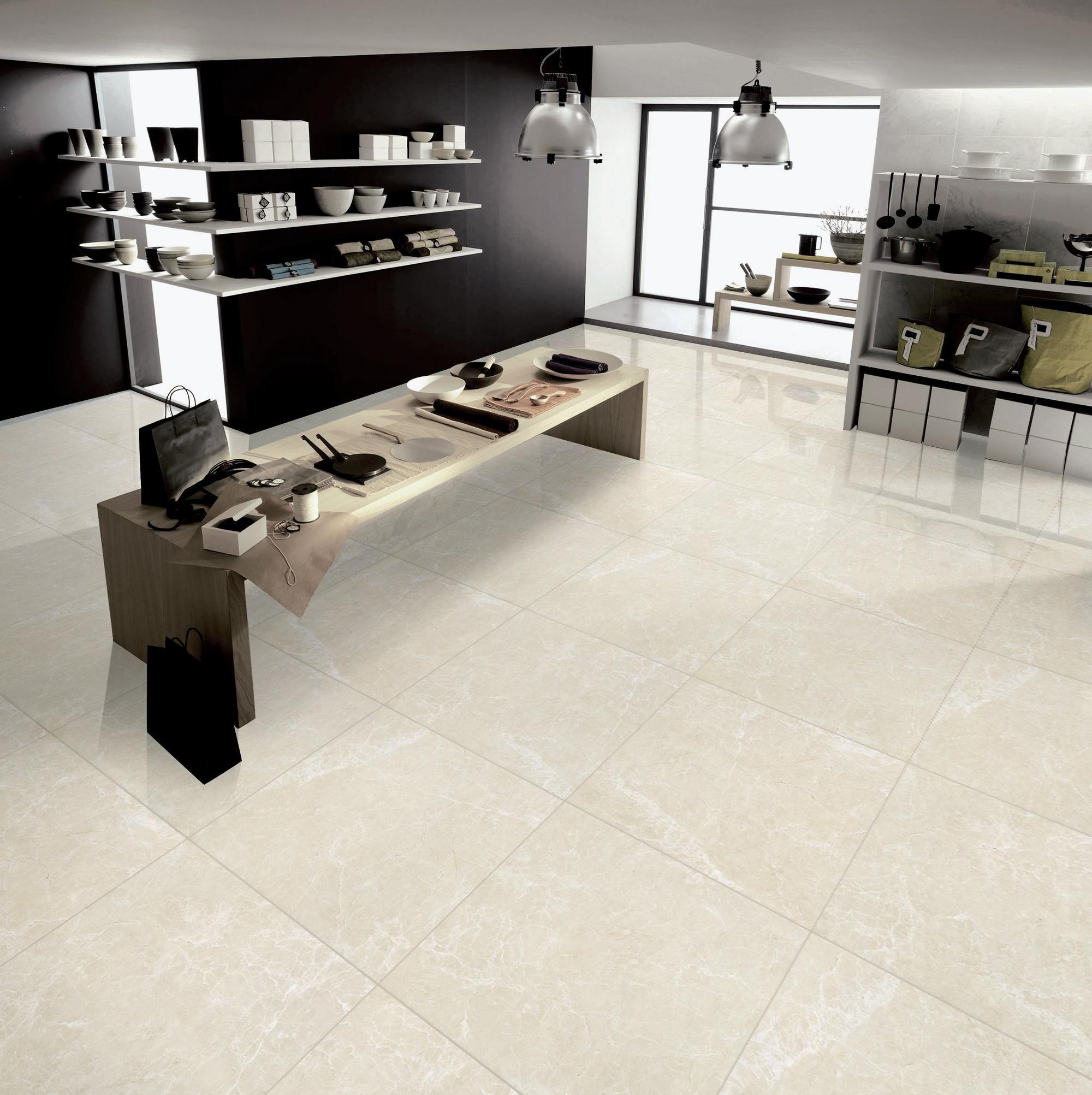 Polished Beige Porcelain Tile   Floor & Decor   Modern floor tiles ...