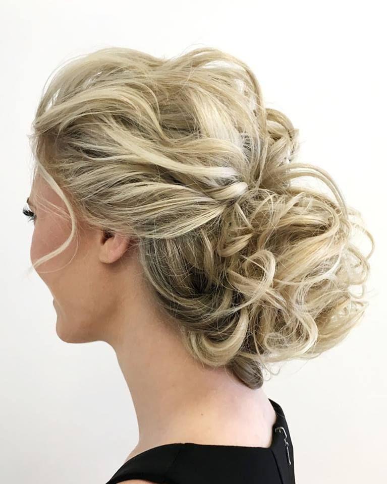 curly updo - Beauty | Pinterest - Kapsel, Kapsels en ...