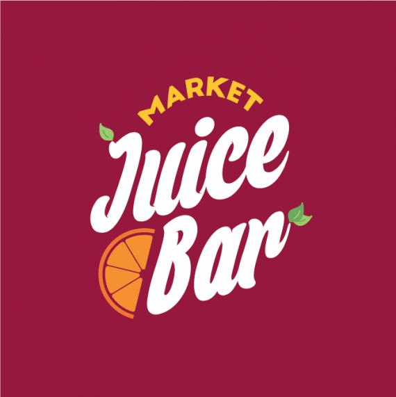 Market Juice Bar Brands of the World™ Download vector